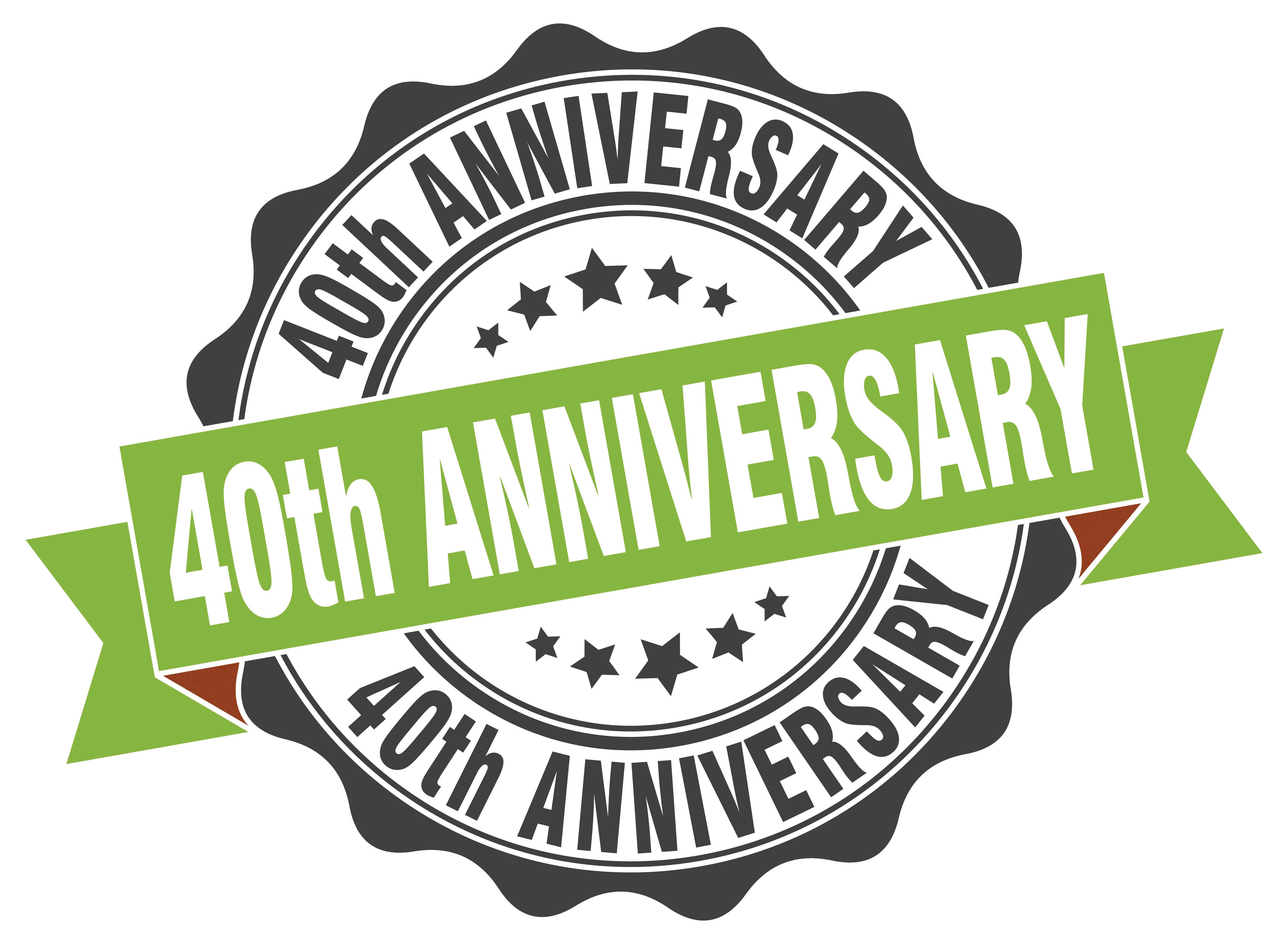 Celebrating 40 years of commitment to technical excellence!