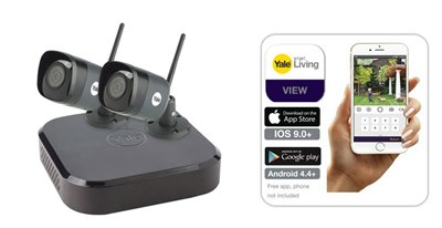 Smart HD CCTV from Yale