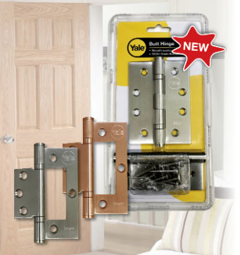 Yale New Stainless Steel Hinges