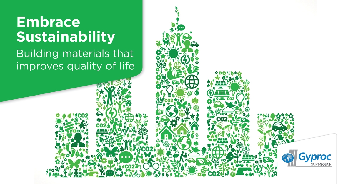 Sustainability and building efficiency at the heart of Saint-Gobain's philosophy