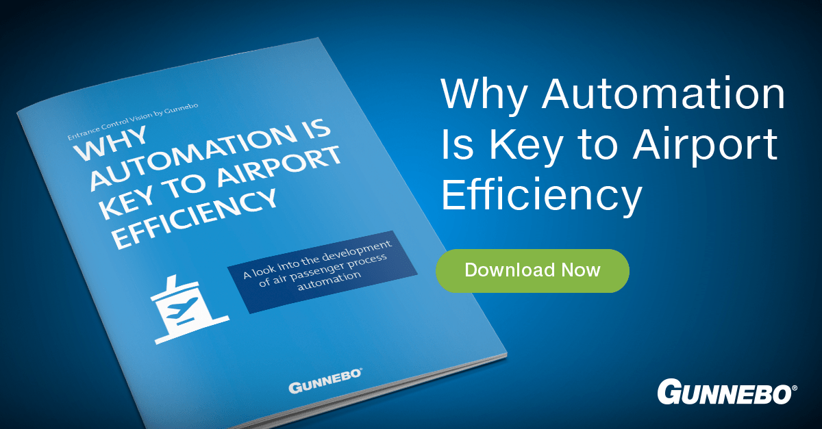 gunnebo airport automation efficiency guide