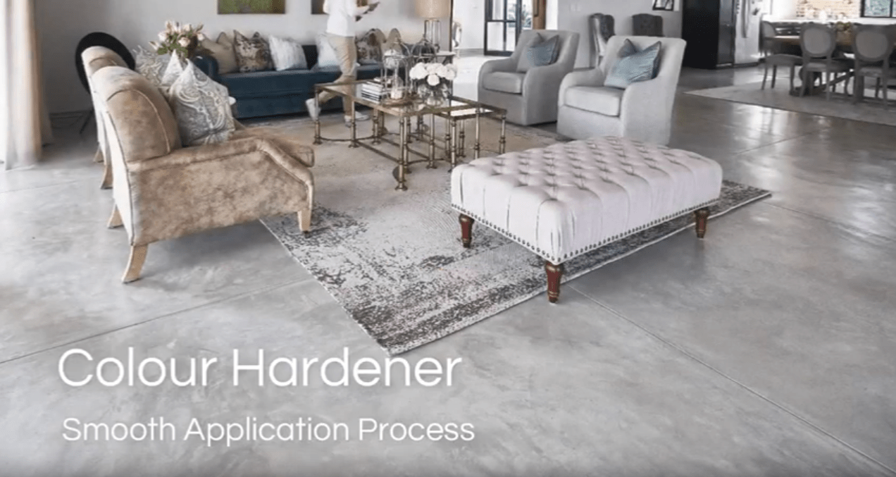 Cemcrete Colour Hardener Application Overview