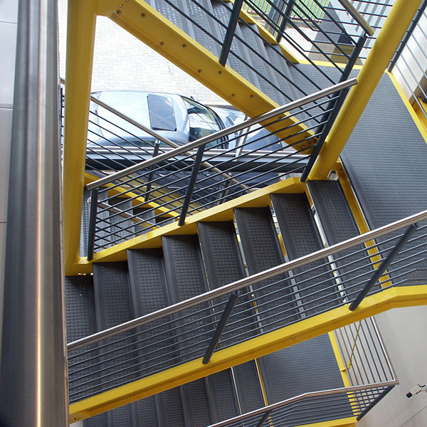 Steps and staircases non-slip solutions