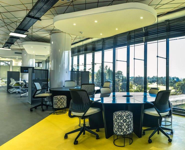 workplace design with african artistic drivers