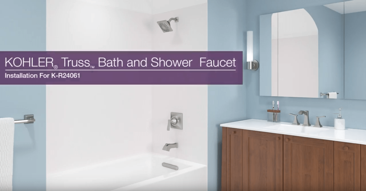 Truss Bath and Shower Faucet Installation