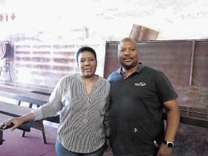 Kasi Shade Owners Sello Modikoane and his wife Nthabiseng