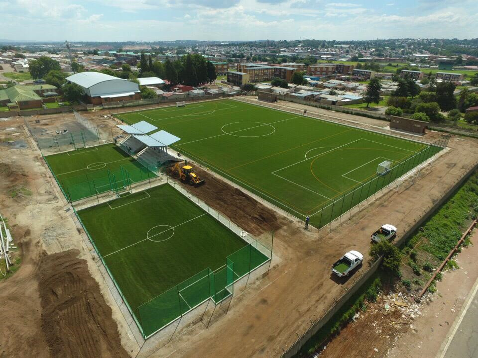 Turftech contributes superior playing surfaces to new Westbury sports' precinct