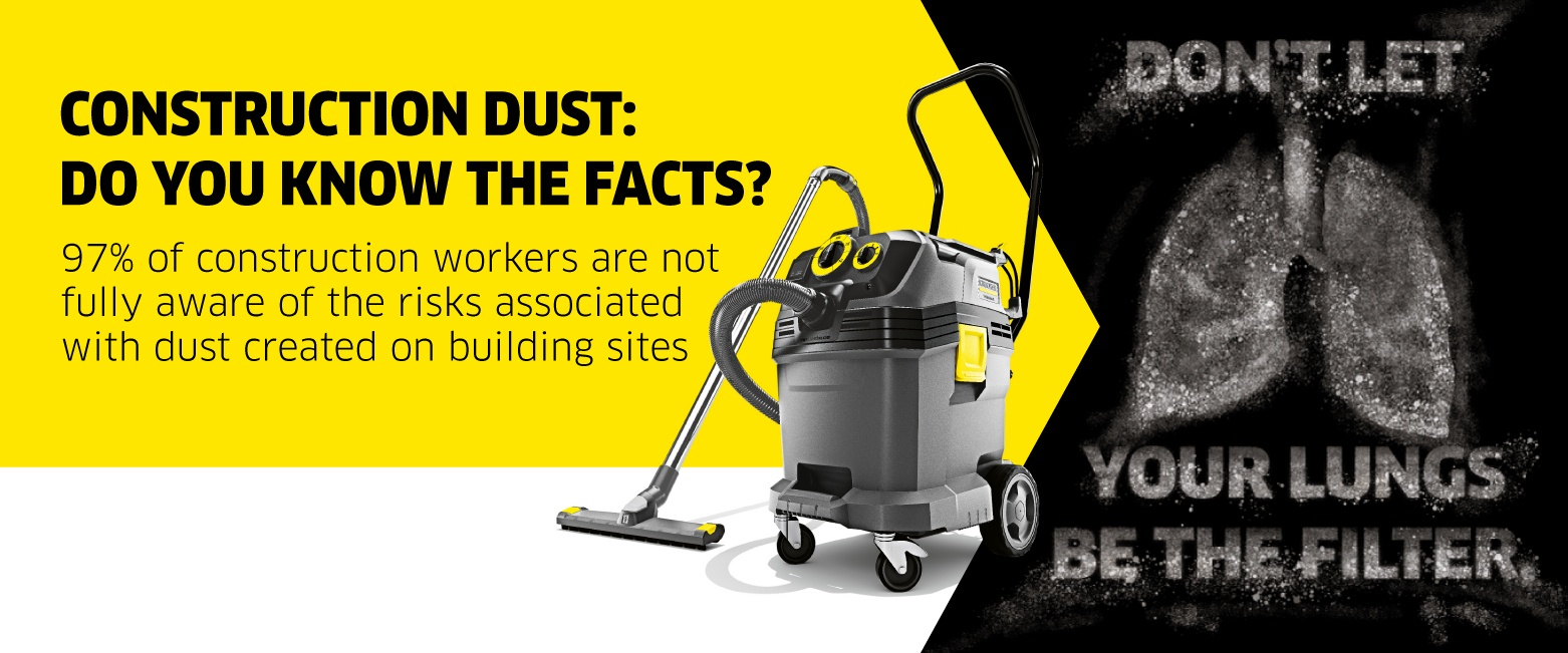 Safety vacuum cleaners protect operators' health | Karcher