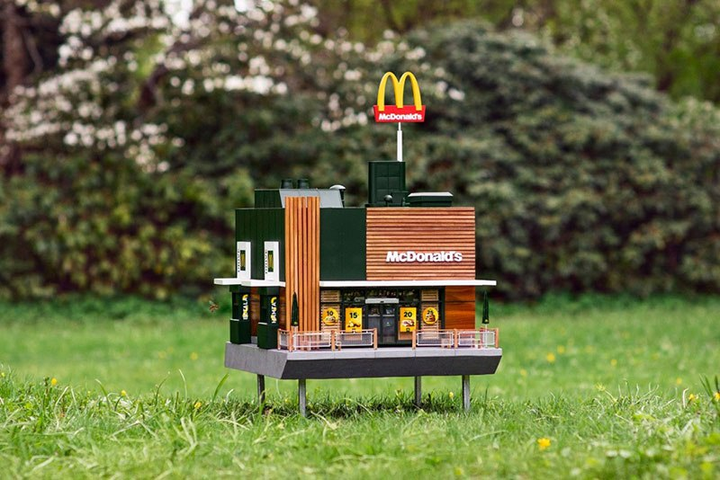 The world's smallest McDonald's - McHives
