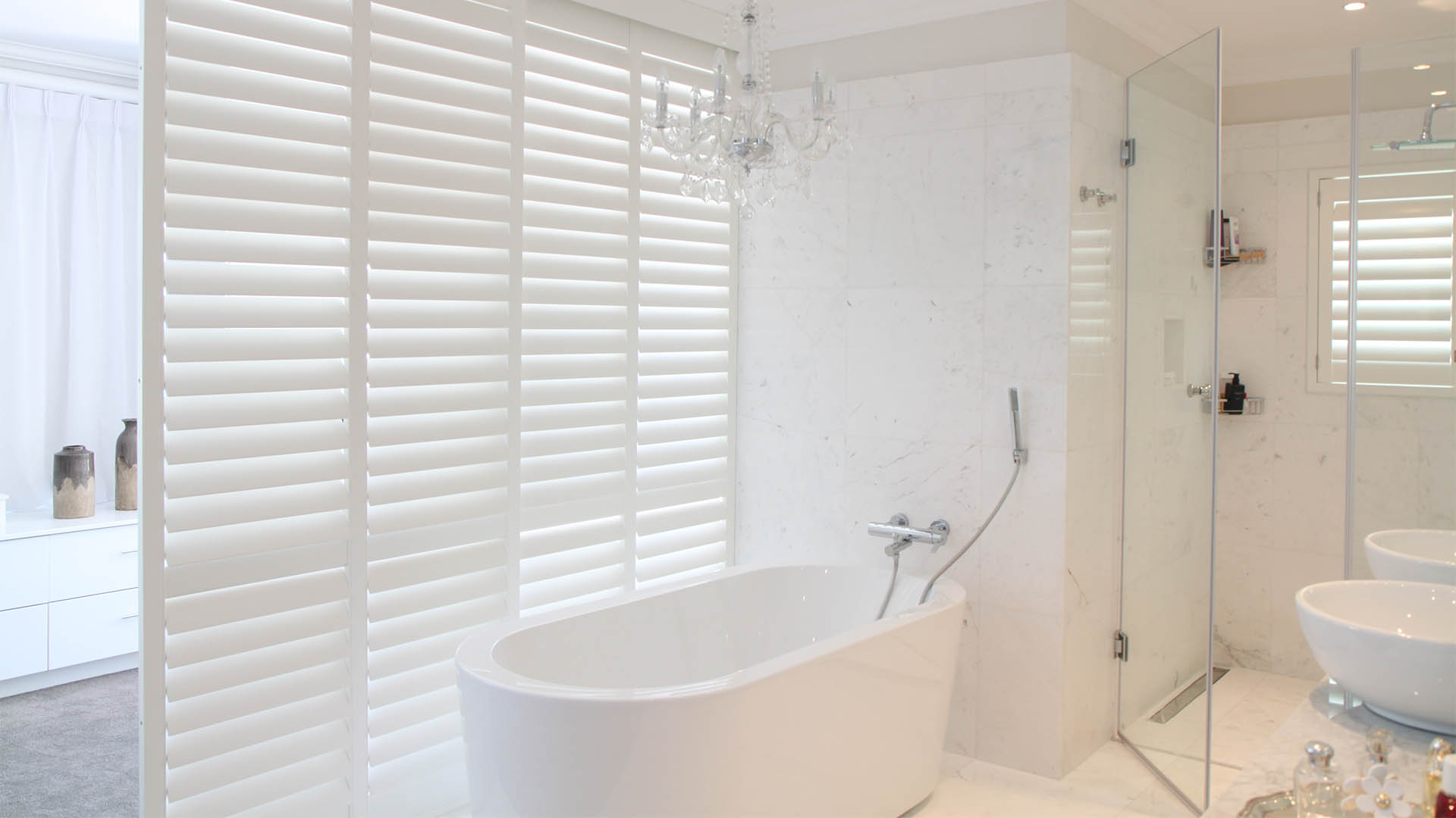 Woodbury Waterproof Shutters