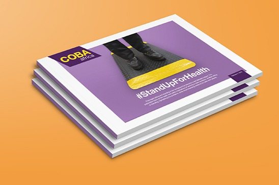Matco COBA Africa Stand Up for Health brochure