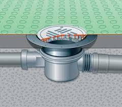 floor waterproofing flange