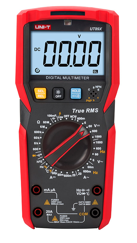 Improved Measurement with the New UT89X Digital Multimeter from UNI-T®