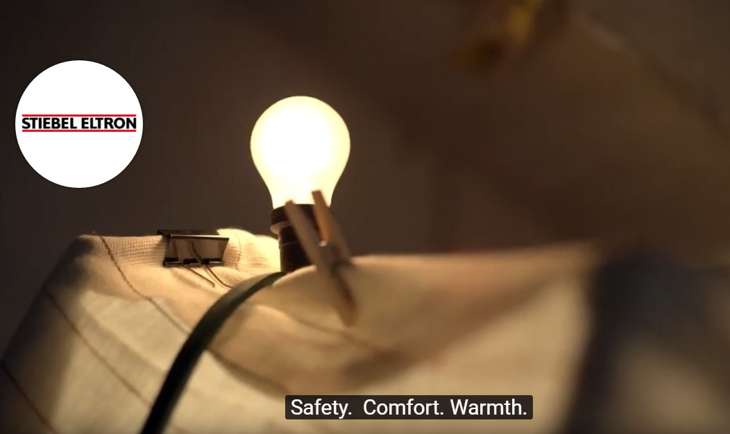 STIEBEL ELTRON – a comfortable home. What really matters: Safety. Comfort. Warmth.