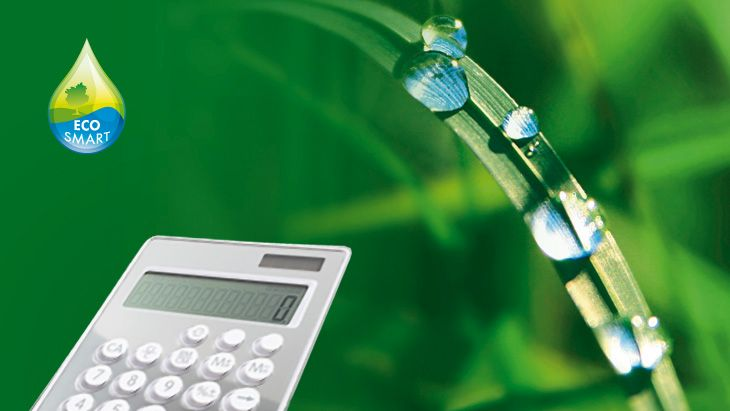 THE HANSGROHE WATER CALCULATOR