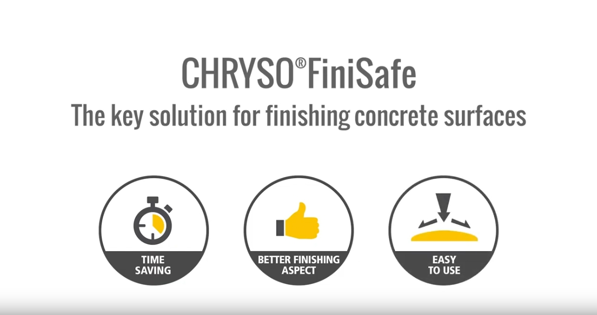 CHRYSO® | FiniSafe - finishing concrete surfaces