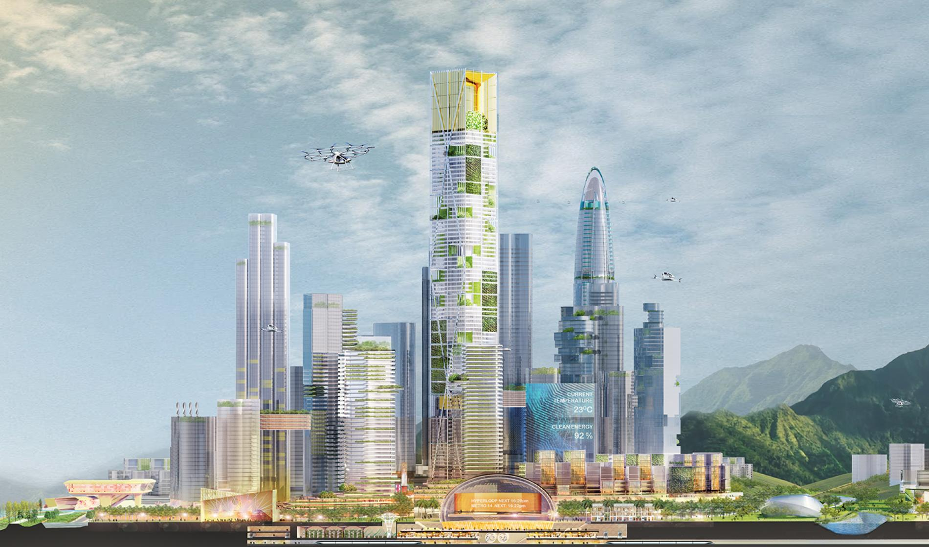 Designing a city of the future