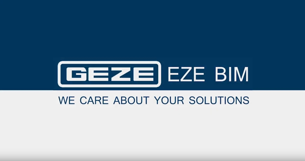 EZE BIM Explanation Video | GEZE South Africa