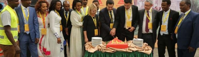sika opening ethiopia mortar factory