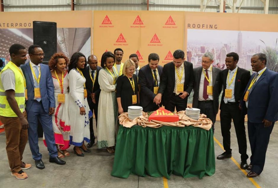 Sika opens mortar plant in Ethiopia