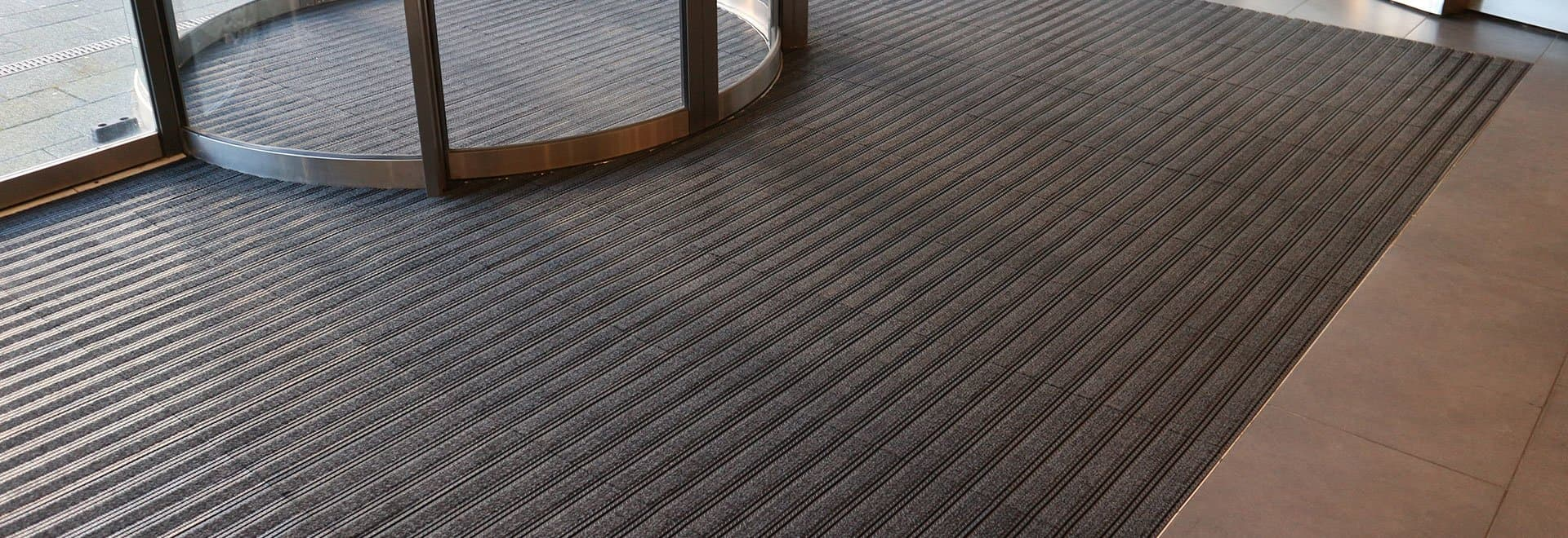 Quick & easy to install entrance matting tiles