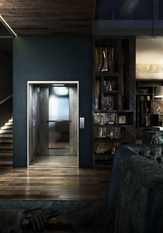 Home lift will increase the value of the home