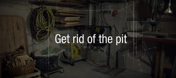 Get rid of the pit