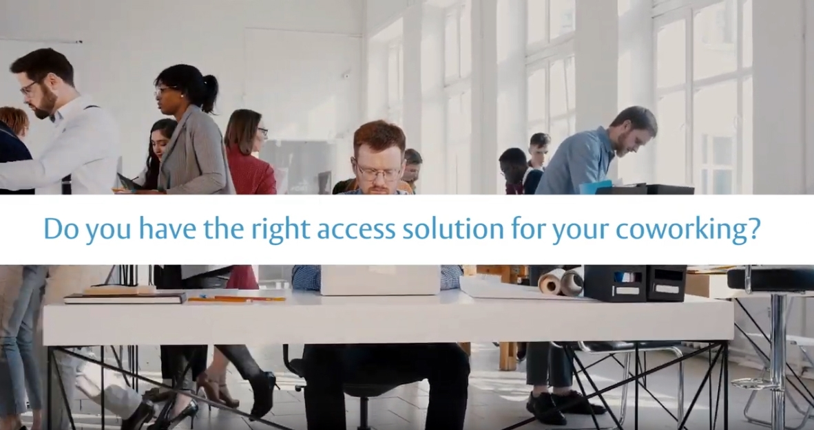 SMARTair®: The mobile-access control solution for your coworking business