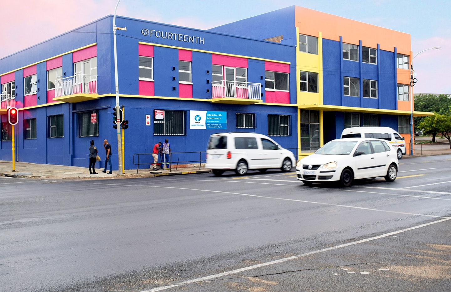 Colourful affordable accommodation to Boksburg CBD