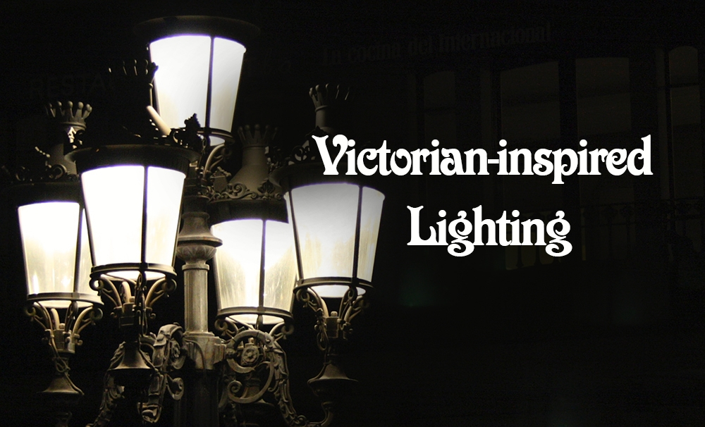 Victorian-inspired lighting design for today