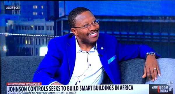 archibald makhatini Johnson Controls Smart Buildings in Africa
