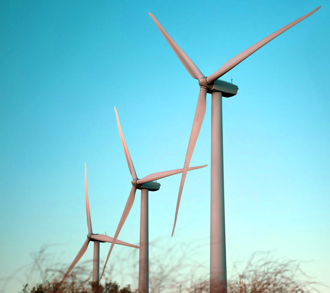 windfarm construction in South Africa Enel green power and alternative renewable energy