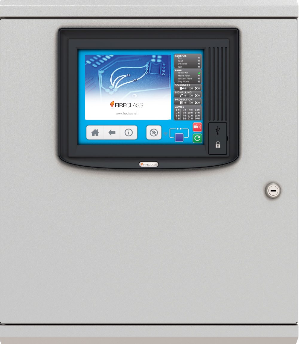 front panel for Johnson Controls fire alarm panels