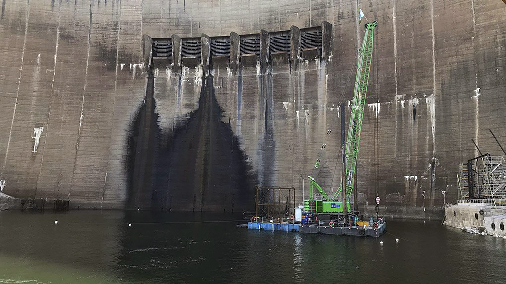 kariba dam repair products used with CHRYSO