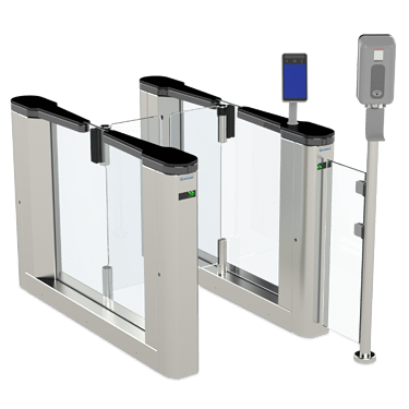 infection control access equipment with screen checks
