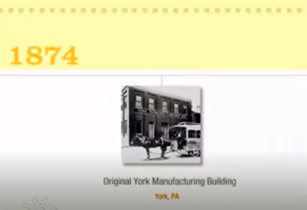 York Home Comfort - Brief History of York® Heating and Cooling Brand