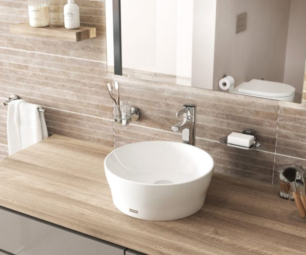 Chrome or stainless steel bathroom accessories?