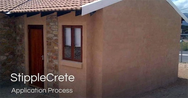 StippleCrete Application Process | Cemcrete