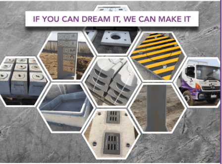Custom-made and one-off precast concrete products