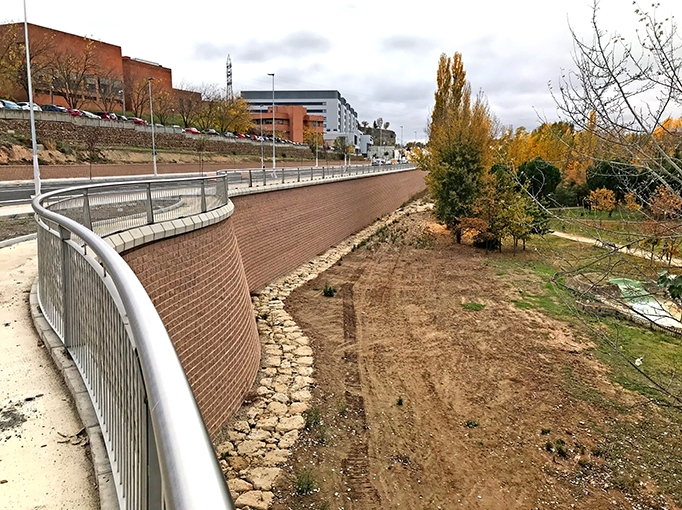 Retaining wall excellence in Spain with Terraforce