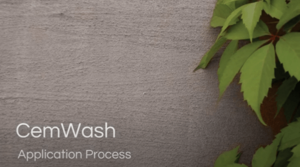 Cemcrete CemWash Application Overview Video