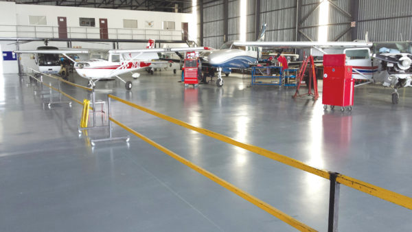 a.b.e Floor coating has covered vast areas in S.A
