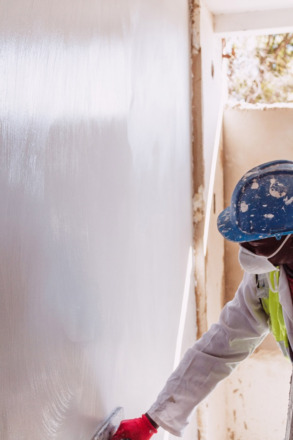 a.b.e. Finishing plaster for silky smooth surfaces