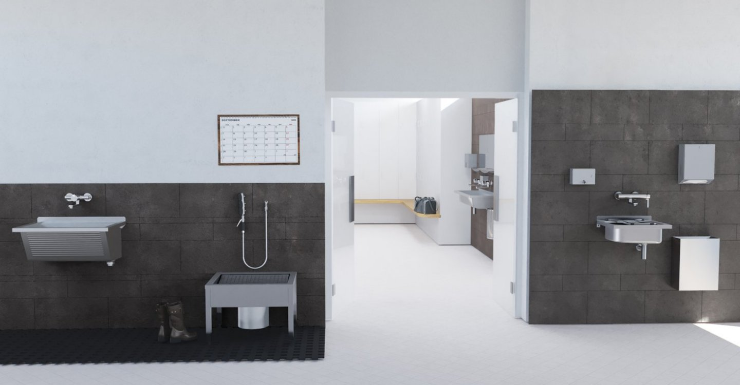 Ideal washroom solutions for the health of your employees