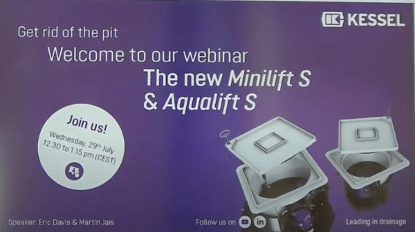 The new Minilift S & Aqualift S