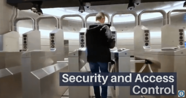 Security access control equipment