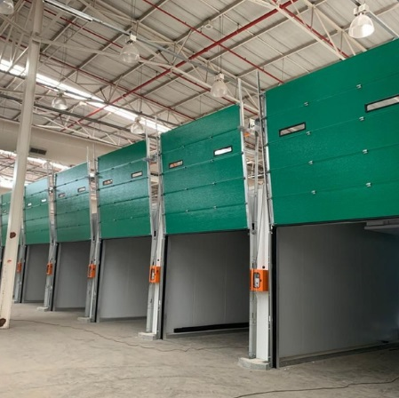 Banana Ripening Rooms with sectional doors