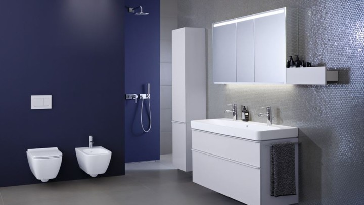 Modern bathroom series creates relaxing positive ambiance