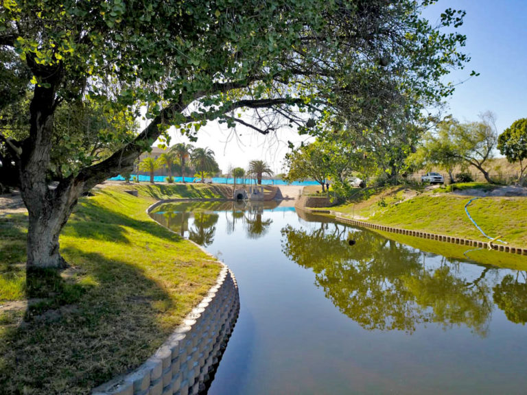 Functional AND beautiful: retention pond delight