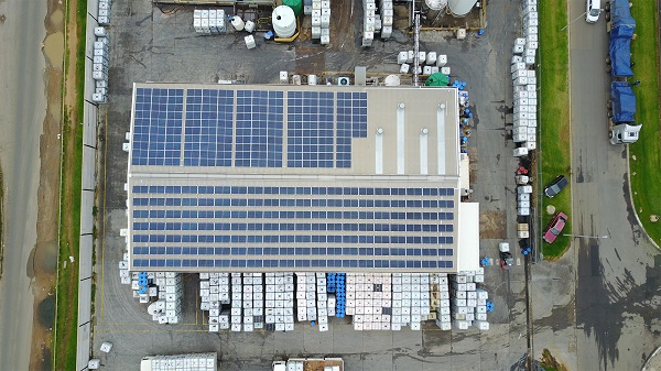 Solar energy adds to CHRYSO's sustainability journey